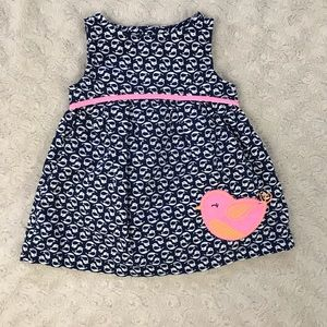 Just One You by Carter's Baby Girl Dress Bird NB